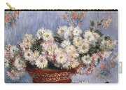 Chrysanthemums, 1878  Carry-all Pouch
