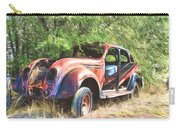 Chrysler Airflow Painterly Expression Carry-all Pouch