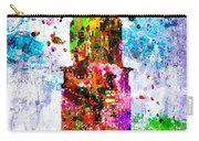 Chrysler Building Colored Grunge Carry-all Pouch