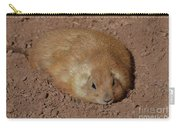 Chubby Prairie Dog Resting In A Shallow Hole Carry-all Pouch