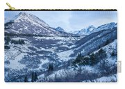 Chugach In Winter Twilight Carry-all Pouch