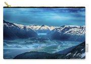 Chugach Mountain Range Carry-all Pouch