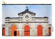 Church And Bicycle Carry-all Pouch