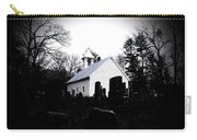Church And Cemetary- Lens Carry-all Pouch