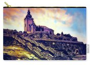 Church Dominant With Decorative Historical Staircase, Graphic Work From Painting. Carry-all Pouch