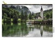 Church In Julian Alps Slovenia Carry-all Pouch
