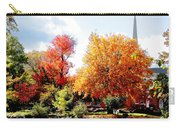 Church In The Distance In Autumn Carry-all Pouch