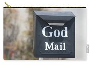 Church Mailbox In Arroyo Grande Carry-all Pouch