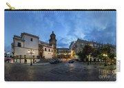Church Of Santo Domingo Panorama Cadiz Spain Carry-all Pouch