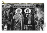 Church Of The Saviour On Spilled Blood, Saint Petersburg #3.    Black And White Carry-all Pouch
