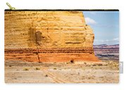 Church Rock Us Highway 163 191 In Utah East Of Canyonlands Natio Carry-all Pouch