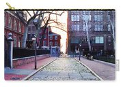 Church Street Cobblestones - Philadelphia Carry-all Pouch by Bill Cannon