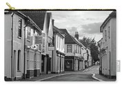 Church Street Sawbridgeworth In Black And White Carry-all Pouch