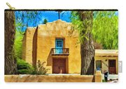 Church With Blue Door Carry-all Pouch