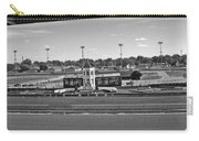 Churchill Downs' Winner's Circle In Black And White Carry-all Pouch