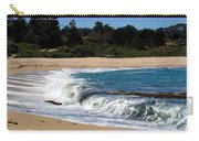 Churning Surf At Monastery Beach Carry-all Pouch