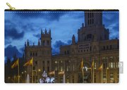 Cibeles Fountain Madrid Spain Carry-all Pouch