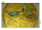 Cicada On Gold Carry-all Pouch