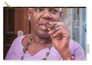 Cigar Lady Carry-all Pouch