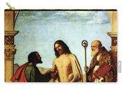 Cima Da Conegliano The Incredulity Of St Thomas With St Magno Vescovo Carry-all Pouch