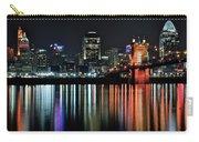 Cincinnati Lights The Ohio River Carry-all Pouch