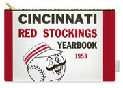 Cincinnati  Reds 1953 Yearbook Carry-all Pouch