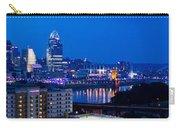 Cincinnati Skyline At Night Carry-all Pouch