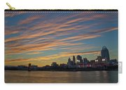 Cincinnati Sunset Carry-all Pouch