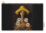 Cinco Margaritas Carry-all Pouch by Oscar Ortiz