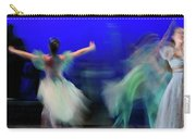 Cinderella And Fairy Godmother Dancing With Green Fairies In Bal Carry-all Pouch