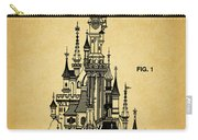 Cinderella Castle Patent Carry-all Pouch