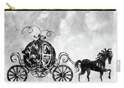 Cinderella's Carriage-black Carry-all Pouch