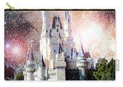 Cinderella's Castle, Fantasy Night Sky, Walt Disney World Carry-all Pouch