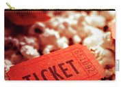 Cinema Ticket On Snackbar Food Carry-all Pouch