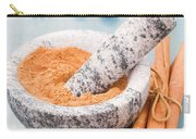 Cinnamon In Mortar Carry-all Pouch