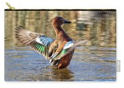 Cinnamon Teal Celebrating Carry-all Pouch