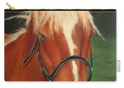 Cinnamon The Horse Carry-all Pouch