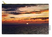 Cinque Terre - Sunset From Manarola - Panorama Carry-all Pouch