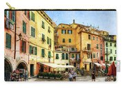 Cinque Terre - Vernazza Main Street - Vintage Version Carry-all Pouch