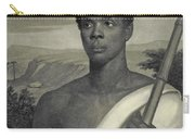 Cinque, The Chief Of The Amistad Captives Carry-all Pouch