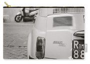Cinquecento Black And White Carry-all Pouch