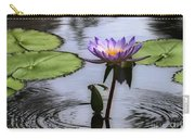 Circle Of Beauty Carry-all Pouch by Sabrina L Ryan
