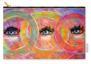 Circle Of Eyes Carry-all Pouch