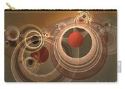 Circles And Rings Carry-all Pouch
