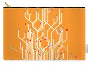 Circuit Board Graphic Carry-all Pouch