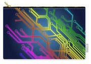 Circuit Board Carry-all Pouch by Setsiri Silapasuwanchai