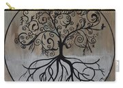 Circular Tree Of Life  Carry-all Pouch