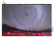 Circumpolar Star Trails Above The Table Carry-all Pouch