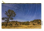Circumpolar Star Trails Over Mimbres Carry-all Pouch