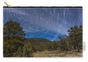 Circumpolar Star Trails Over The Gila Carry-all Pouch